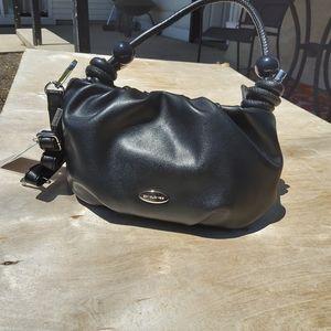 DAVID JONES black handbag
